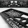 License Plate Frames with 3D inscriptions SCORPIO.jpg
